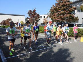 マラソン競技スタートの様子
